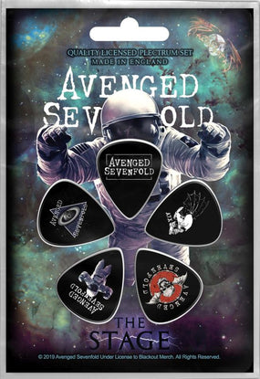 Avenged Sevenfold - 5 x Guitar Picks Plectrum Pack (Stage)