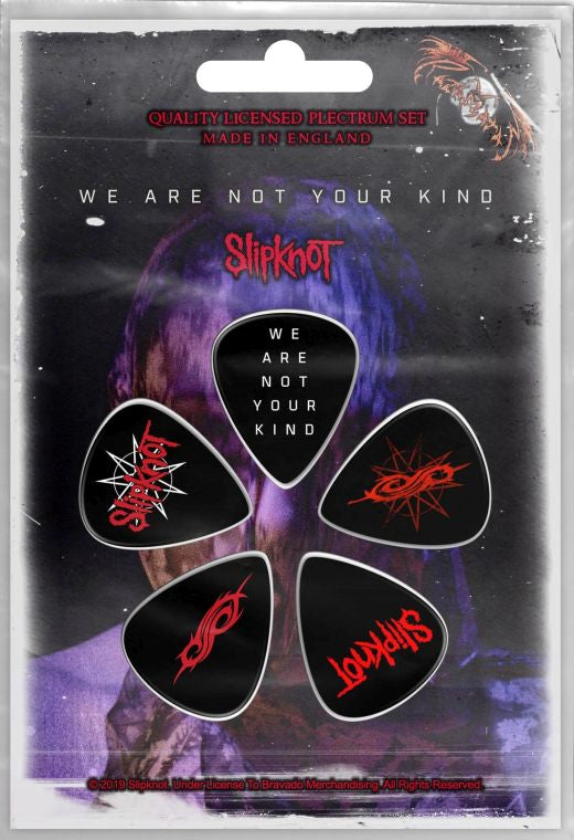 Slipknot - 5 x Guitar Picks Plectrum Pack (We Are Not Your Kind)