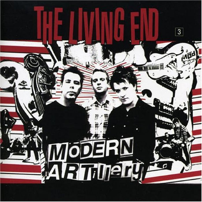 Living End - Modern Artillery (Ltd. Ed. CD/DVD) - CD - 2nd Hand