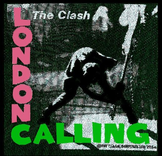 Clash - London Calling Sew-On Patch