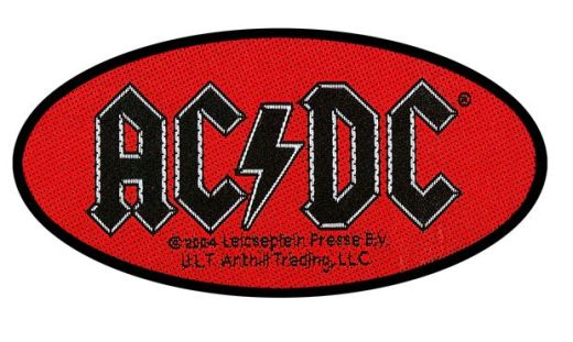ACDC - Oval Sew-On Patch