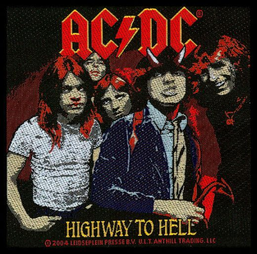 ACDC - Highway To Hell Sew-On Patch