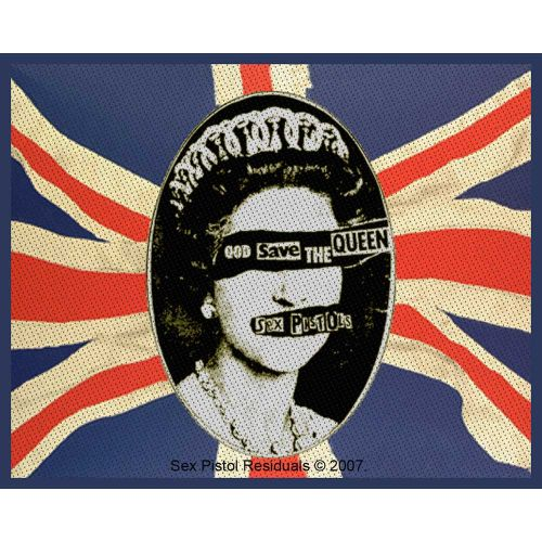 Sex Pistols - God Save The Queen Sew-On Patch