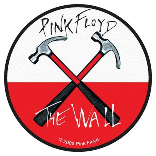 Pink Floyd - Hammers Round Sew-On Patch