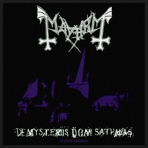 Mayhem - De Mysteriis Sew-On Patch