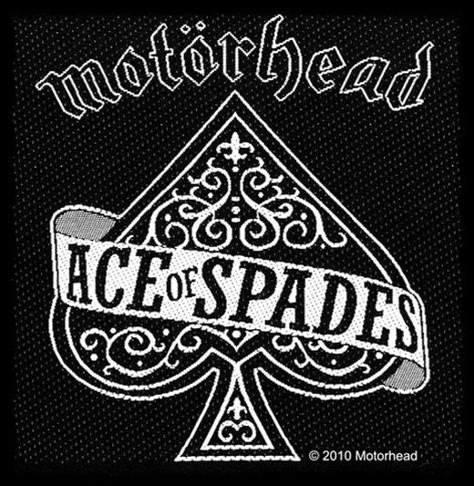 Motorhead - Ace Of Spades Sew-On Patch