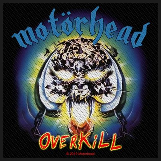 Motorhead - Overkill Sew-On Patch
