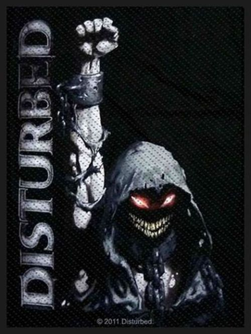 Disturbed - Up Fist Sew-On Patch