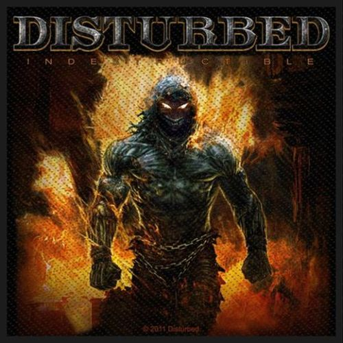 Disturbed - Indestructible Sew-On Patch