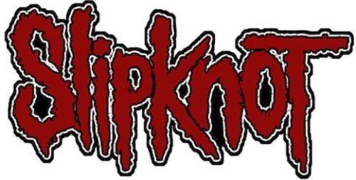 Slipknot - Logo Cutout Sew-On Patch