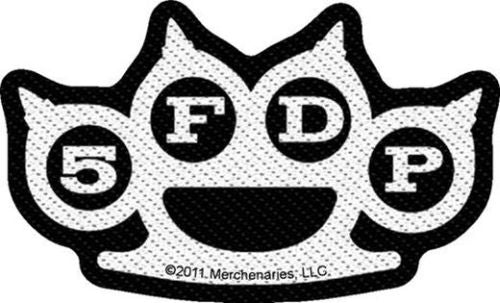 Five Finger Death Punch - Knuckles Cutout Sew-On Patch