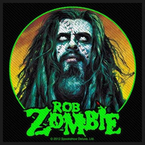 Zombie, Rob - Zombie Face Sew-On Patch