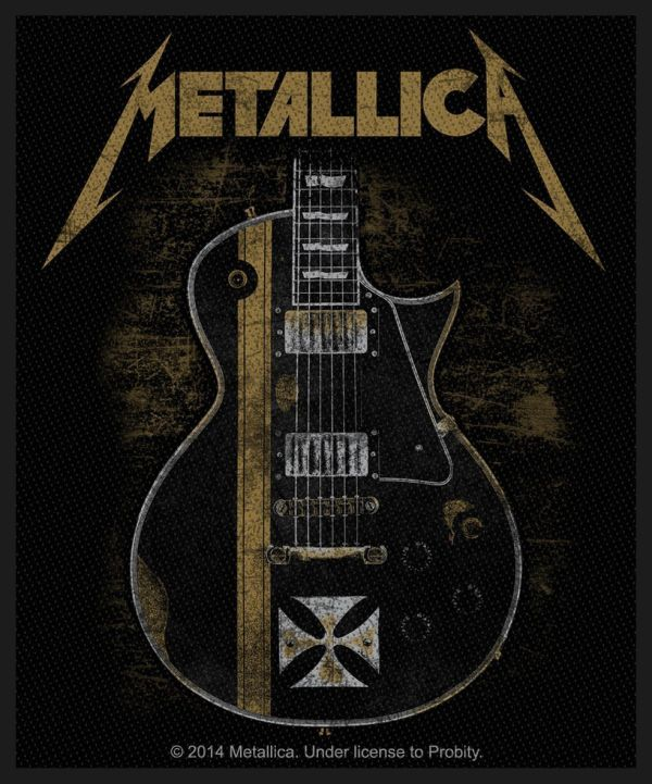 Metallica - Hetfield Guitar Sew-On Patch