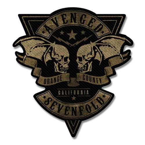 Avenged Sevenfold - Orange County Cut-out Sew-On Patch