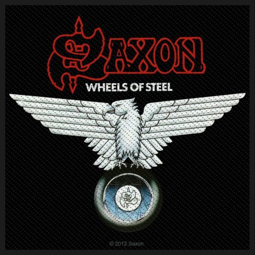 Saxon - Wheels Of Steel Sew-On Patch