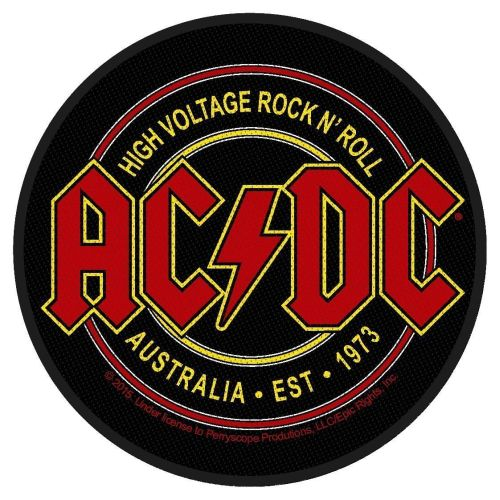 ACDC - High Voltage Rock N Roll Sew-On Patch