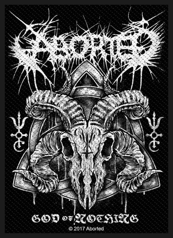 Aborted - God Of Nothing Sew-On Patch
