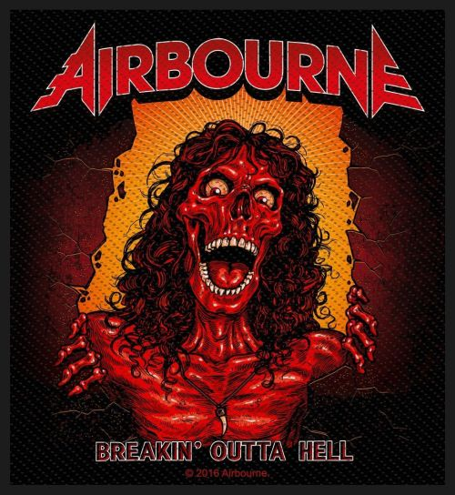 Airbourne - Breakin Outta Hell Sew-On Patch