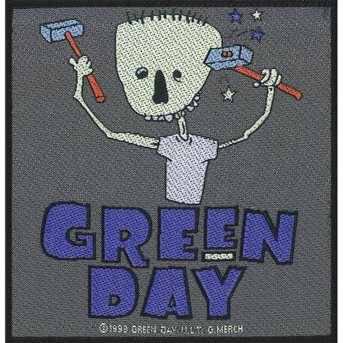 Green Day - Hammer Face Sew-On Patch