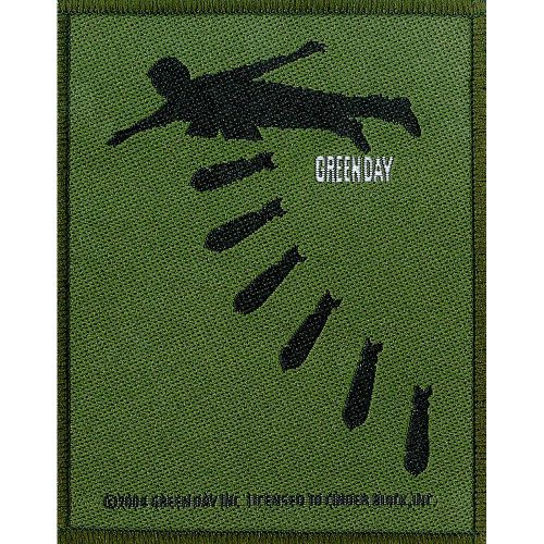 Green Day - Bombs Sew-On Patch