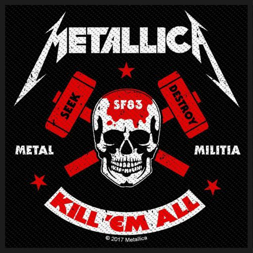 Metallica - Metal Militia Sew-On Patch