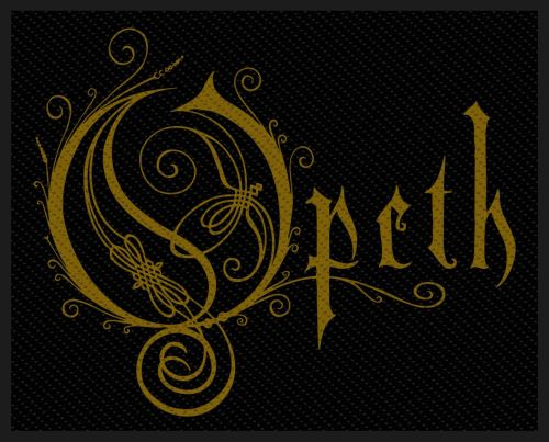 Opeth - Logo Sew-On Patch
