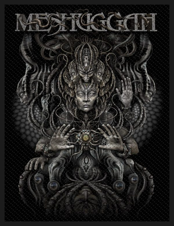 Meshuggah - Musical Deviance Sew-On Patch