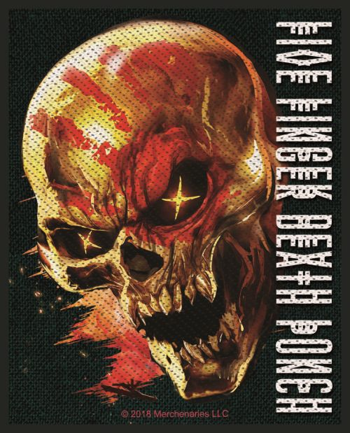 Five Finger Death Punch - And Justice For None Sew-On Patch