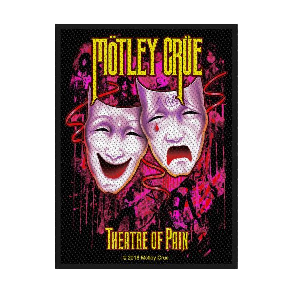 Motley Crue - Theatre Of Pain Sew-On Patch