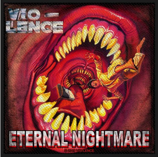 Vio-Lence - Eternal Nightmare Sew-On Patch
