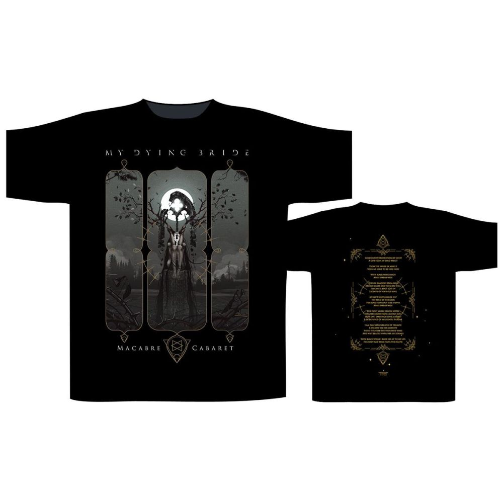 My Dying Bride - Macabre Cabaret Black Shirt