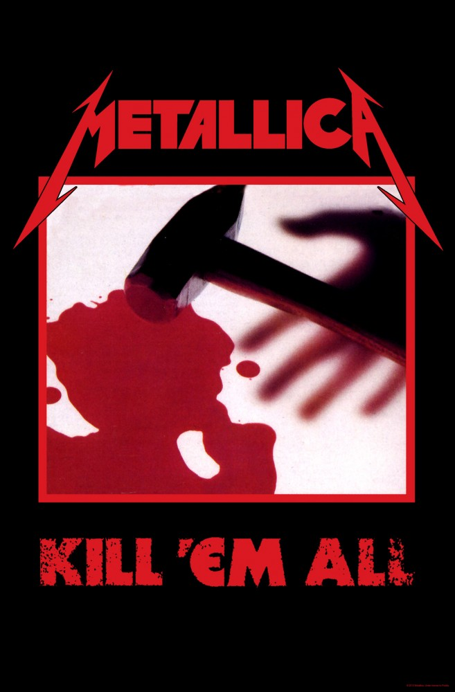 Metallica - Premium Textile Poster Flag (Kill Em All)
