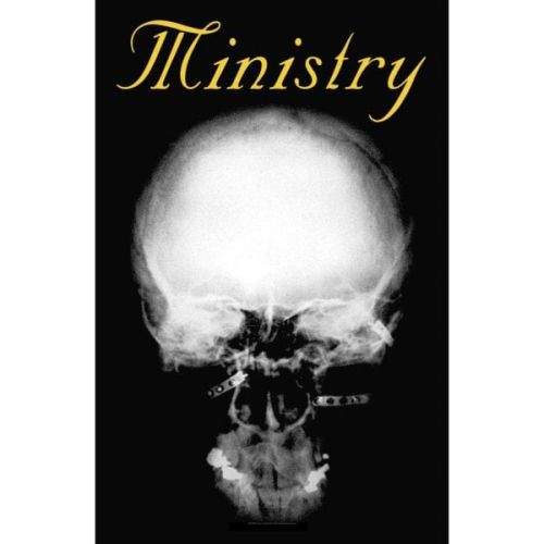 Ministry - Premium Textile Poster Flag (The Mind Is A Terrible Thing To Taste)