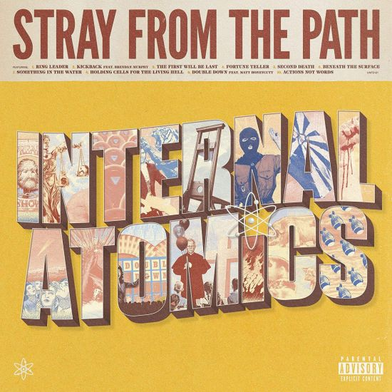 Stray From The Path - Internal Atomics - CD - New