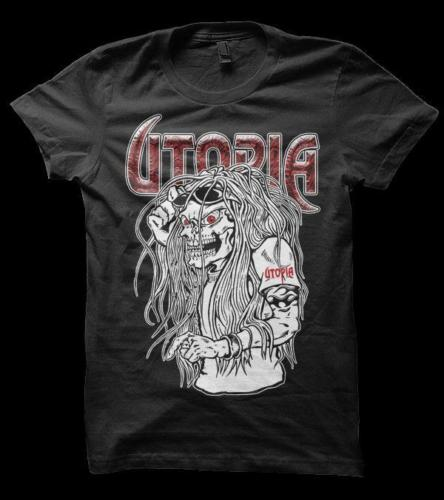 Utopia - Keeping Music Evil Since 1978 Black Shirt