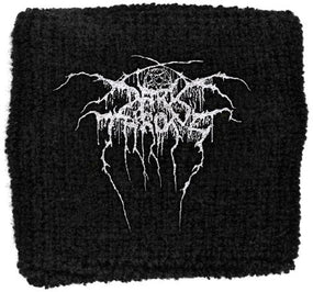 Darkthrone - Sweat Towelling Embroided Wristband (Logo)
