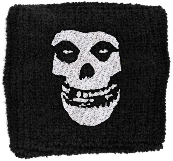 Misfits - Sweat Towelling Embroided Wristband (Fiend)