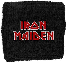 Iron Maiden - Sweat Towelling Embroided Wristband (Final Frontier)