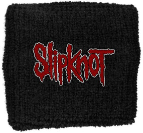 Slipknot - Sweat Towelling Embroided Wristband (Logo)