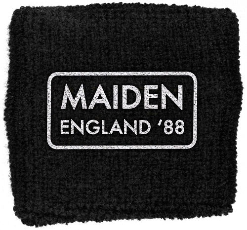 Iron Maiden - Sweat Towelling Embroided Wristband (Maiden England)