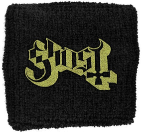 Ghost - Sweat Towelling Embroided Wristband (Logo)