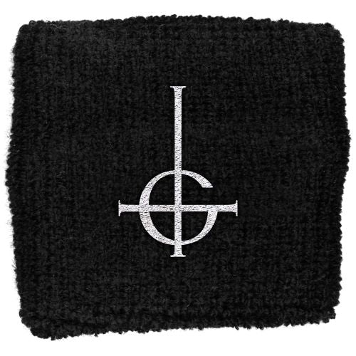 Ghost - Sweat Towelling Embroided Wristband (Grucifix)
