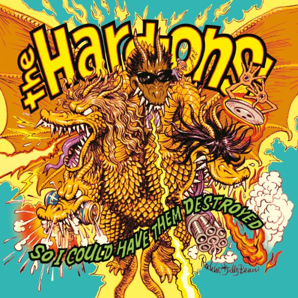 Hard-Ons - So I Could Have Them Destroyed (USA pressing 100 copies on Orange vinyl 180G) - Vinyl - New