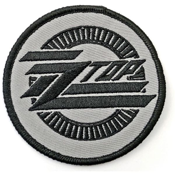 ZZ Top - Circle Logo Sew-On Patch