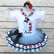 Alice in ONEderland Birthday Tutu Outfit