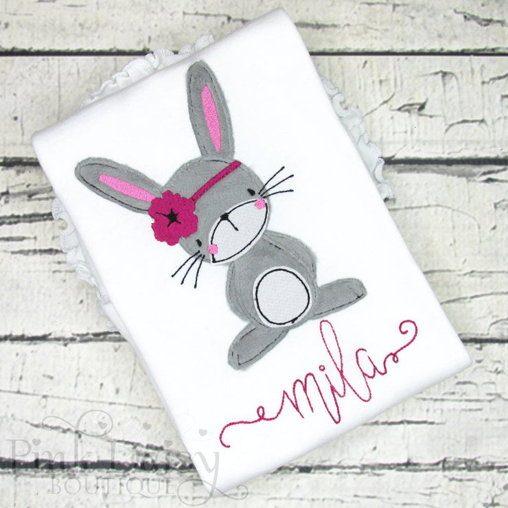 Bunny Rabbit Shirt for Girls