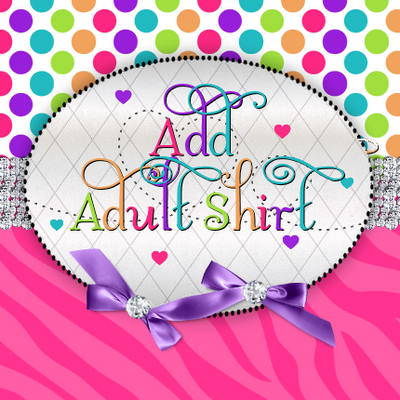 Add Coordinating Adult Shirt