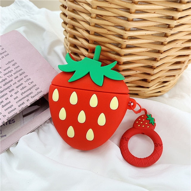 Strawberry AirPods Case Cute