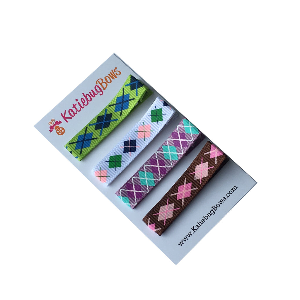 Argyle Clippie Set