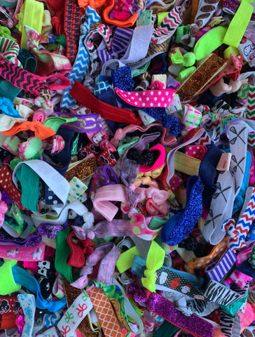 100 Hair Tie Grab Bag